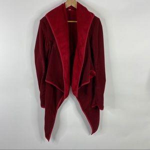 Lululemon Jacket Presence of Mind Fleece Wrap
